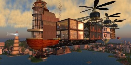 Celadon Steam SkyCity
