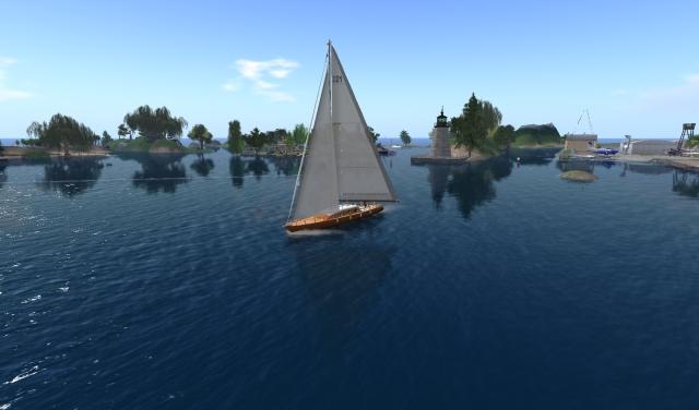 Yordie Sands Sailing on the Blake Sea 2012