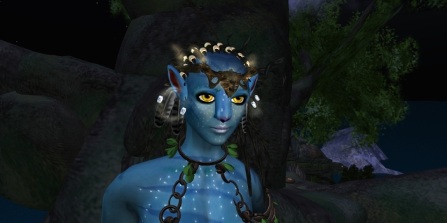 Yordie Na'vi @ Pandora Moon in Second Life 2010