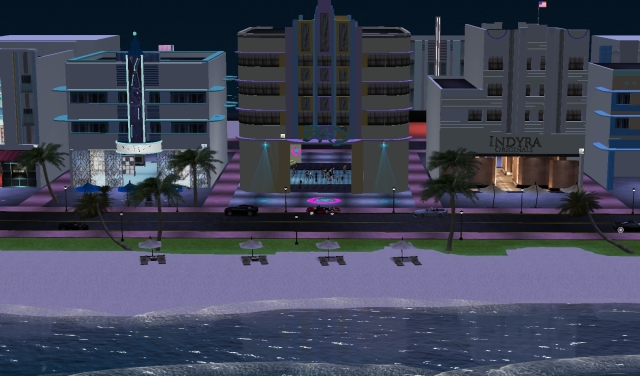 BAD nightclub @ Florida sim - Second Life by Yordie Sands 2012