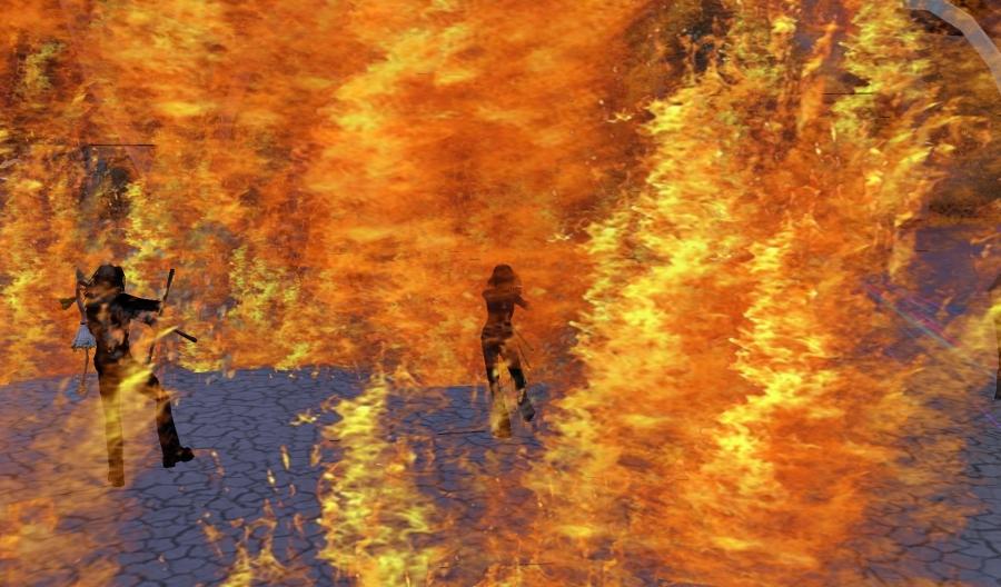 BURN2 Day 5 - Lamplighters @ Second Life by Yordie Sands 2012