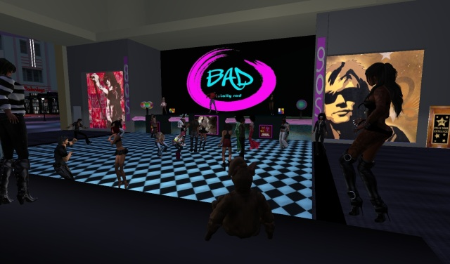 DJ Jose of Base @ BAD nightclub - Florida sim - Second Life by Yordie Sands 2012