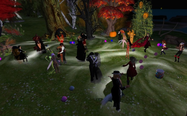 Ellie's Halloween Party - Second Life by Yordie Sands 2009