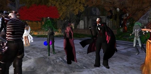 Ellie's Halloween Party - Second Life by Yordie Sands 2010
