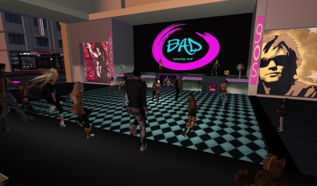 Leanna & Yordie @ BAD nightclub - Second Life by Yordie Sands 2012