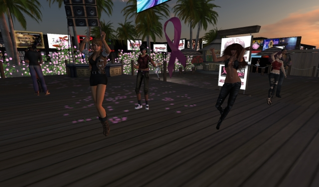 Leanna - Yordie - Sue @ Big Daddys - Second Life by Yordie Sands 2012