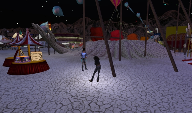 Yordie Sands & Buttermilk Panacek @ BURN2 in Second Life 2012