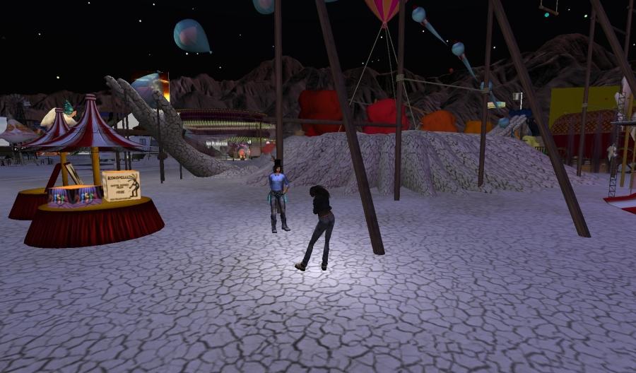 Yordie Sands & Buttermilk Panacek @ BURN2 in Second Life 2012