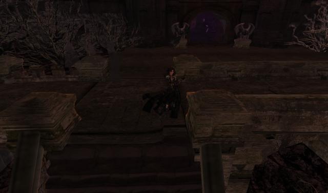 Yordie & Pearl @ Castle Graveyard - Calas Galadhon - Second Life 2012.108