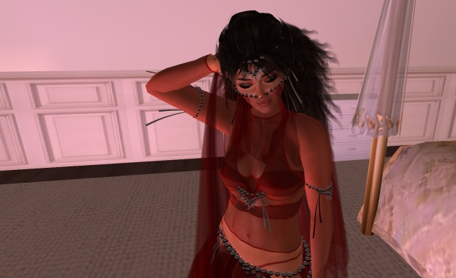 Yordie Sands - Exotic Dancer's Sexy Silks in Second Life 2012