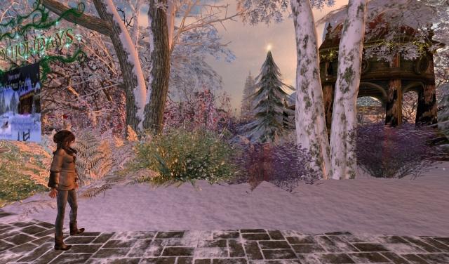 Yordie Sands Beautiful Calas Galadhon Christmas 2012