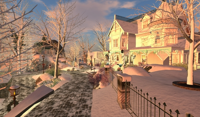 Calas Galadhon - Christmas 2012 - by Yordie Sands #4