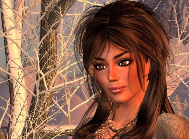 Yordie Sands - Beautiful Woman - Second Life 2012