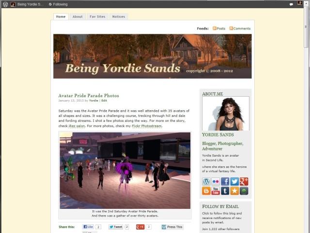 Being Yordie Sands - MistyLook