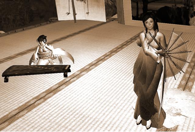 Yordie Sands portrays apprentice geisha Suzuki