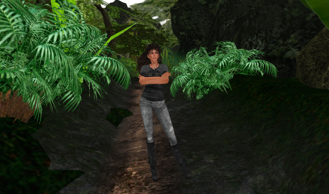 Yordie in Second Life's Amazon - Testing Firestorm 4-4-0 - 2013