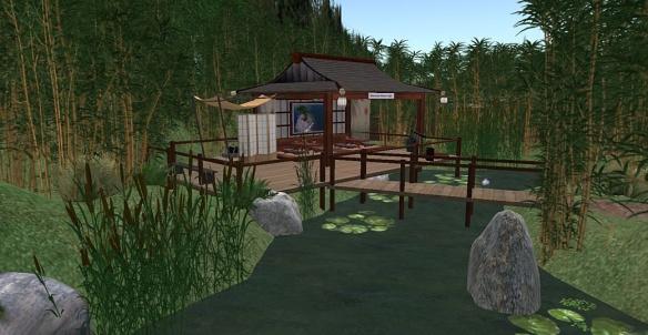 A New Little Japanese Garden   Being Yordie Sands