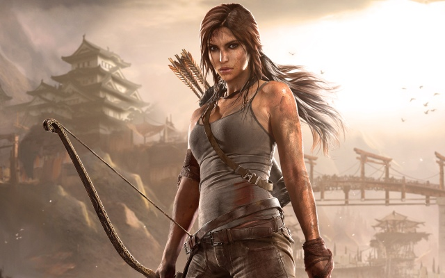 Here's a great photo of Lara Croft from HD Wallpapers. (http://www.hdwallpapers.in/tomb_raider_2013-wallpapers.html)