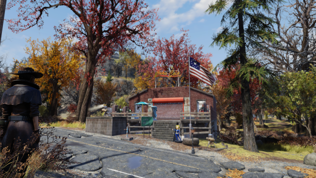 Yordie Sands Fallout 76 CAMP